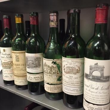 1970 Bordeaux Lineup