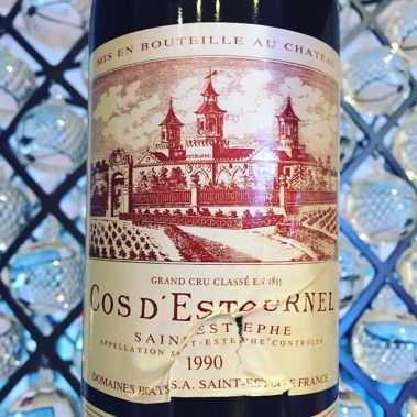 1990 cos d'estournel